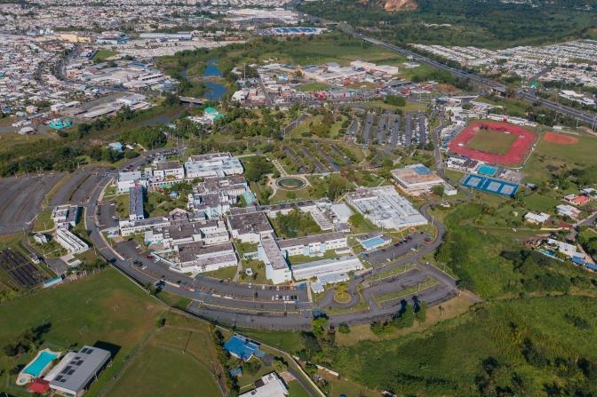 Fotos aéreas SUAGM Caguas