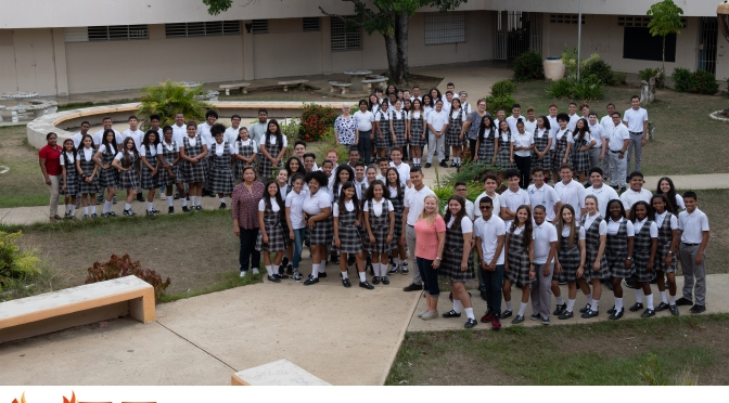 Escuela Rev. Felix Castro / Clase Octavo grado 2019