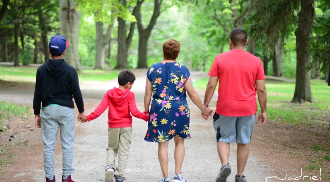 Familia Rosario Figueroa Viaje a Canadá